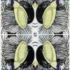 Fruehling, Anya Triestram, Linolschnitt