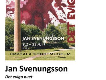 Jan Svenungsson Ausstellung in Uppsala Konstmuseum