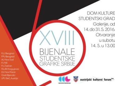 THE BIENNALE OF STUDENTS' GRAPHICS OF SERBIA